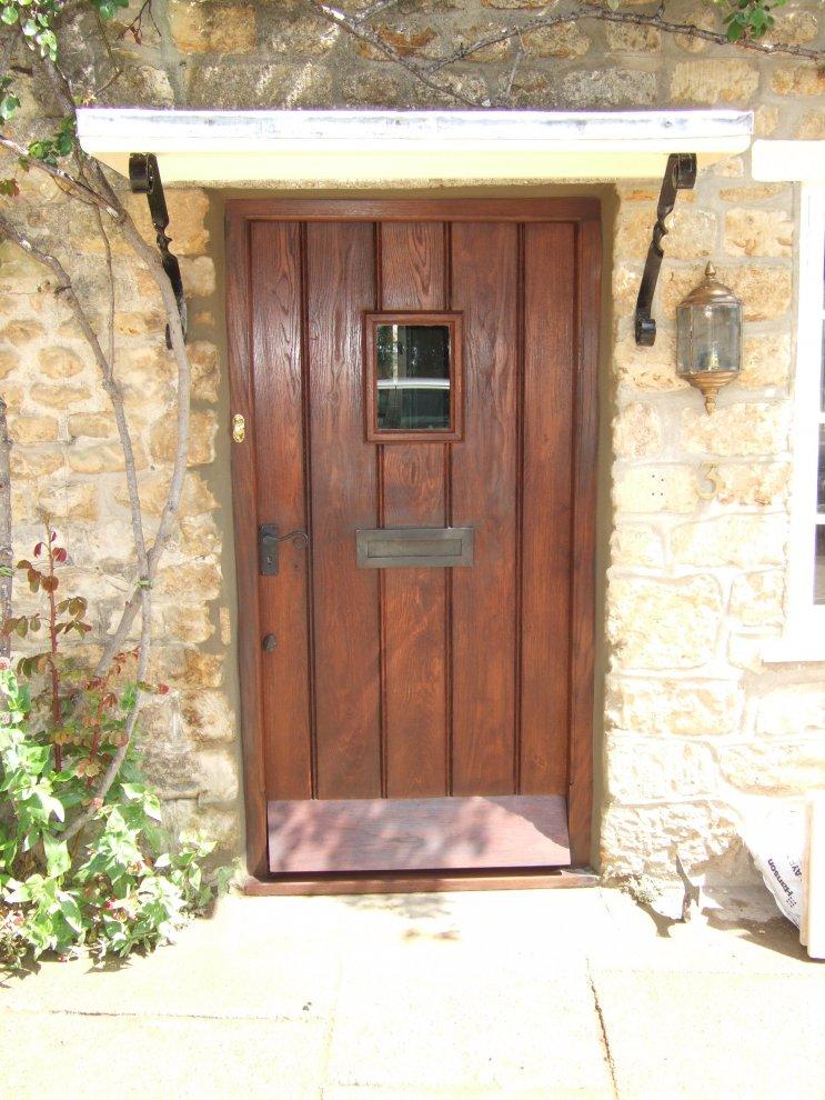 Solid Oak Front Door And Frame