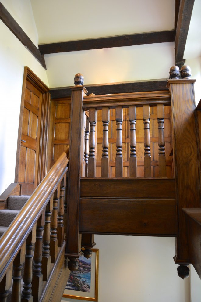 16th Century Solid Oak Staircase