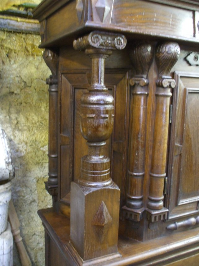 details of a court cupboard