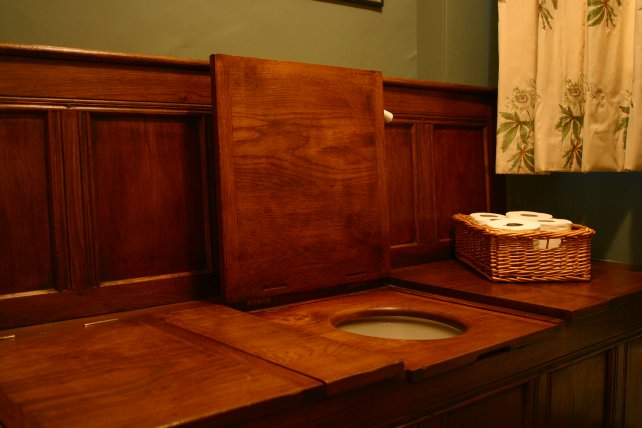oak thunderbox