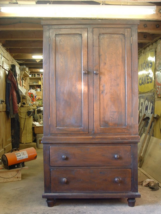 cabinet on chest, linen press
