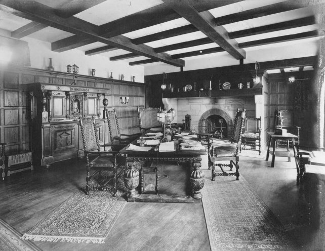 Claude Graeme-White's office