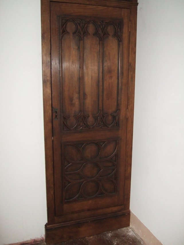 gothic cupboard door
