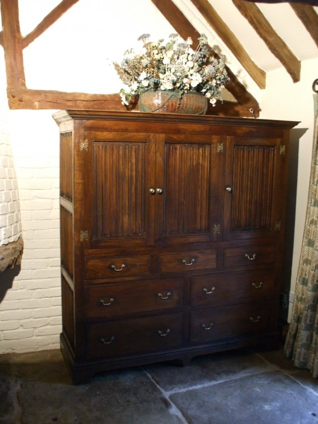 cupboard on chest