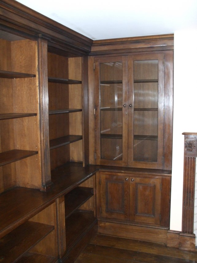 17th century oak library