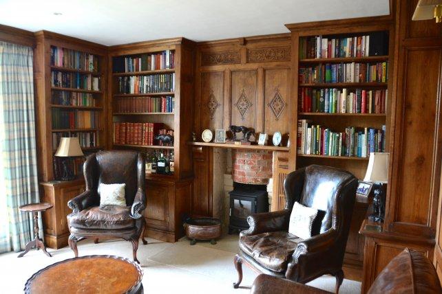 tudor oak study