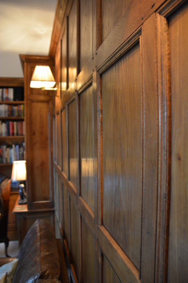 detailing of panelling