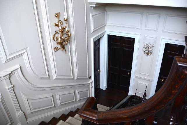 18th Century Georgian panelled stairway