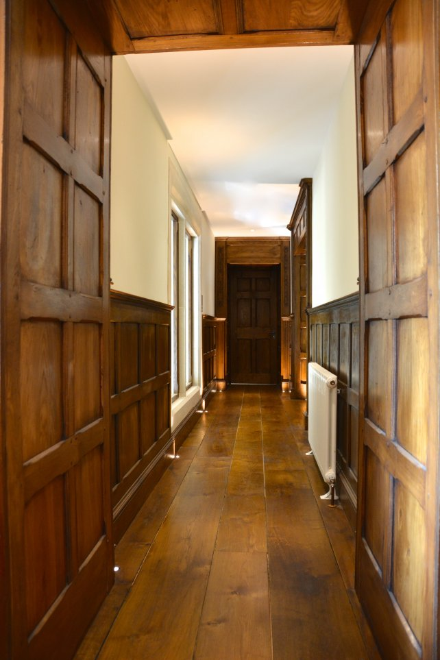 oak panelling and doors