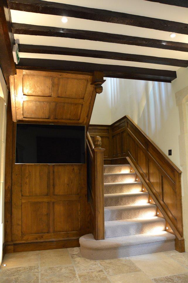 entrance hallway panelling