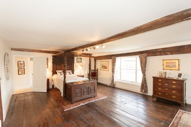 restored wide oak flooring