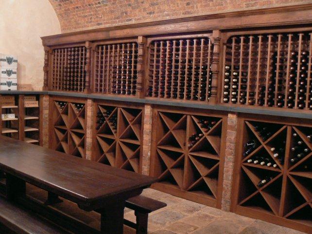 wine rack and storage
